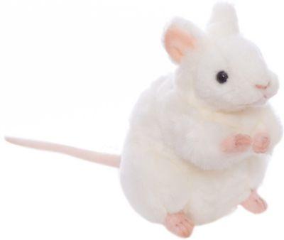 Белая мышь, 16 см