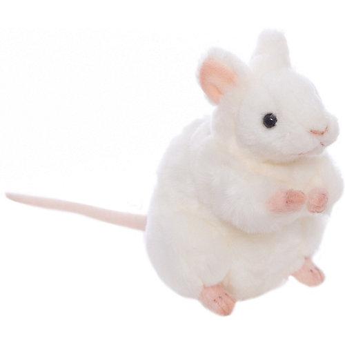 Белая мышь, 16 см от Hansa