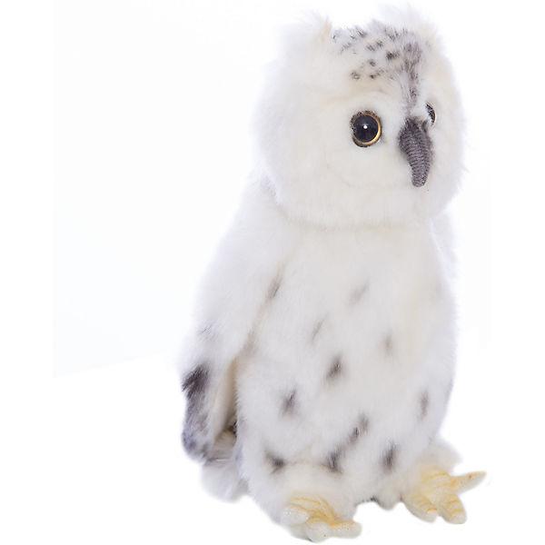 """Мягкая игрушка Hansa """"Птицы"""" Белая сова, 18 см"""