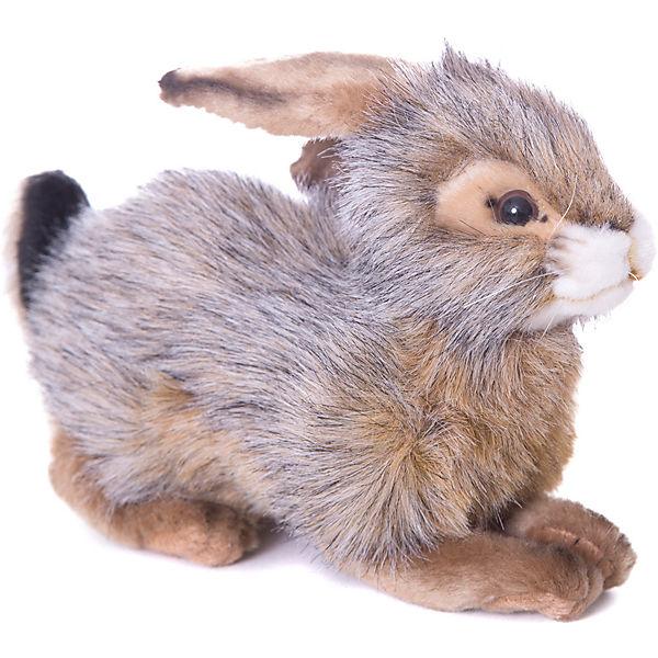 Кролик черный, 25 см