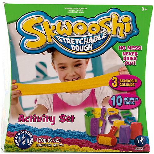 Игровой набор для лепки и аксессуары от Skwooshi
