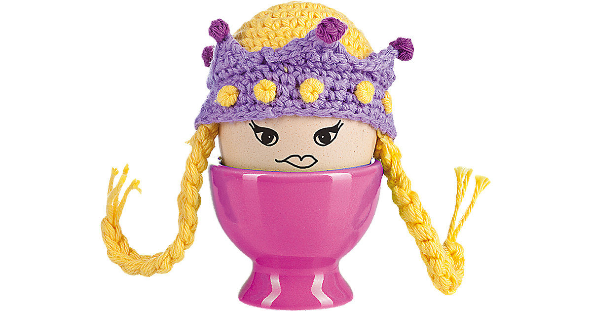 Eierwärmer Princess Egg mehrfarbig
