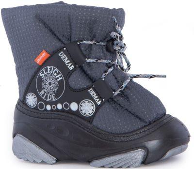 Сноубутсы Snow Ride для мальчика demar - серый