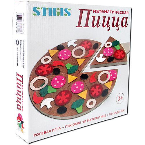 """Игра на липучках Stigis """"Пицца математическая"""" от STIGIS"""