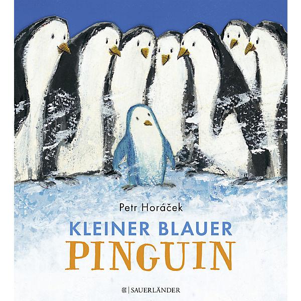 Kleiner blauer Pinguin, Petr Horacek   myToys