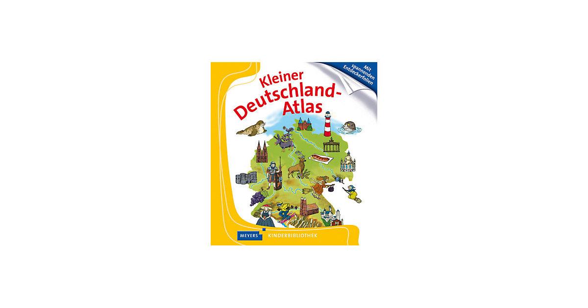 Meyers Kinderbibliothek: Kleiner Deutschland-Atlas