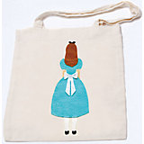 "Стигис-аппликация на эко-сумке ""Алиса"""
