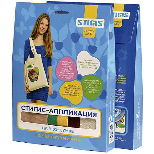 """Стигис-аппликация на эко-сумке """"Подсолнухи"""" от STIGIS"""