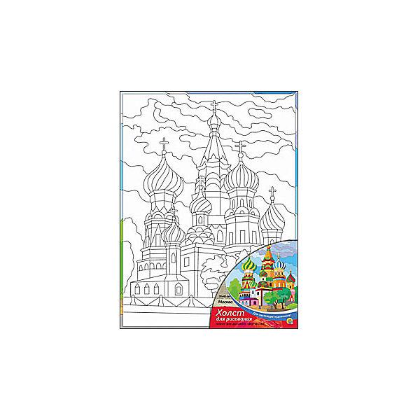 """Холст с красками """"Москва"""", 30х40 см"""