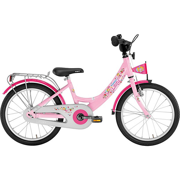 prinzessin lillifee kinderfahrrad zl 18 alu 18 zoll. Black Bedroom Furniture Sets. Home Design Ideas
