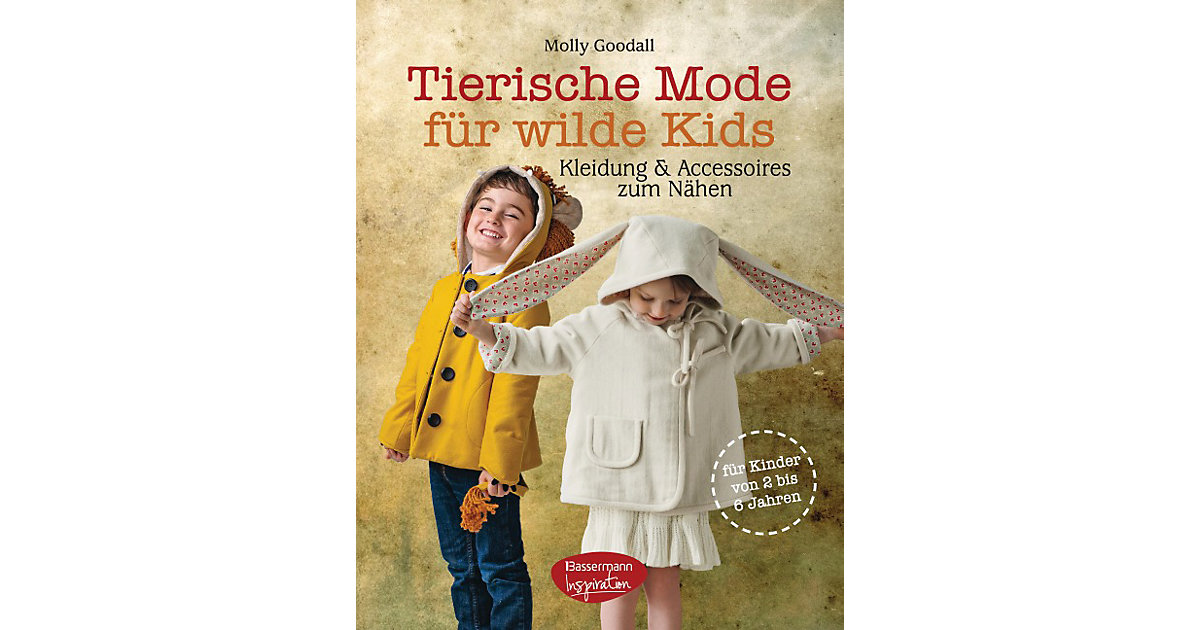 Tierische Mode wilde Kids Kinder