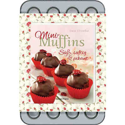 Mini-Muffins-Set, mit 24er-Backform