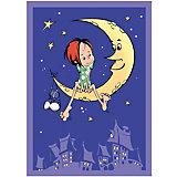 Плед-покрывало На луне VELSOFT,100% п/э,разм. 100х140,2-х стор., Baby Nice