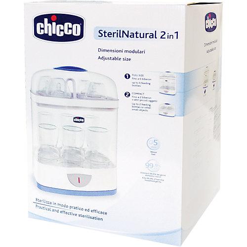 Стерилизатор бутылочек паровой 2-в-1 с автоматич.отключ., CHICCO от CHICCO