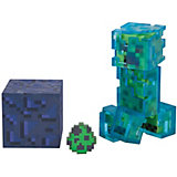 Игровая фигурка Jazwares Minecraft Charged Creeper,  8 см
