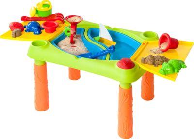 Mädchen Rosa Sand und Wasser Spiel Tablet Kinder Outdoor Garten /& Sandkasten