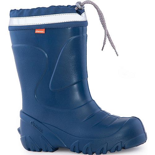 Резиновые сапоги со съемным носком Demar Mammut-S - синий от Demar