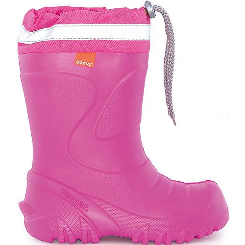 Резиновые сапоги со съемным носком Demar Mammut-S - розовый от Demar