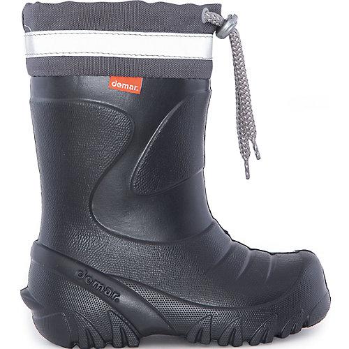 Резиновые сапоги со съемным носком Demar Mammut-S - черный от Demar