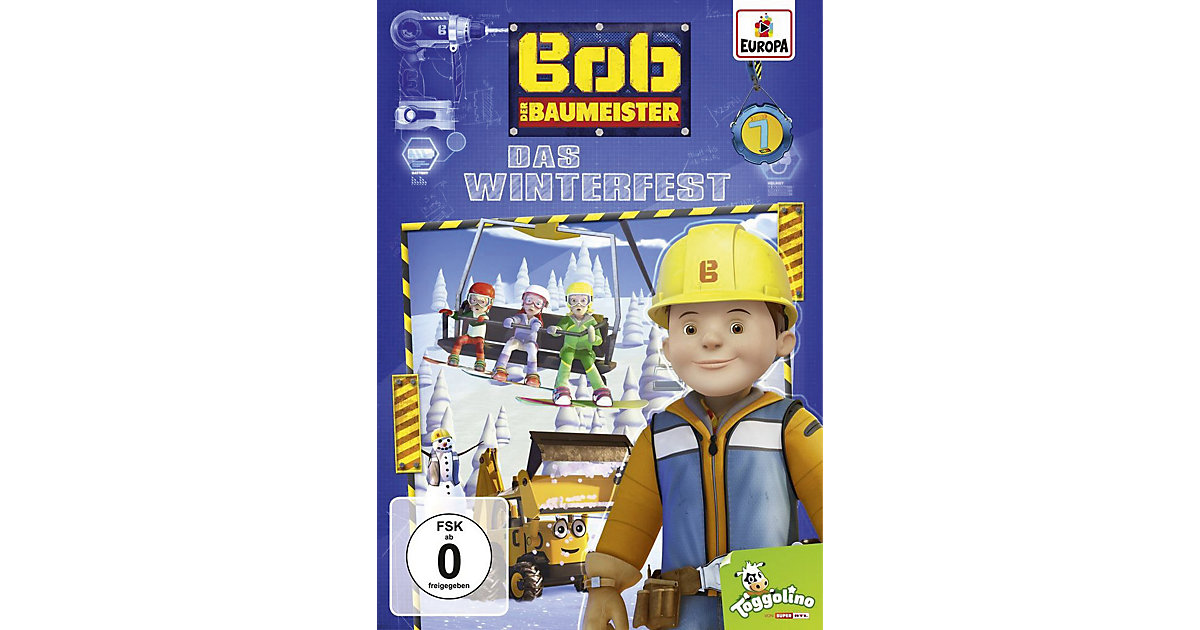 DVD Bob der Baumeister 7 - Das Winterfest Hörbuch