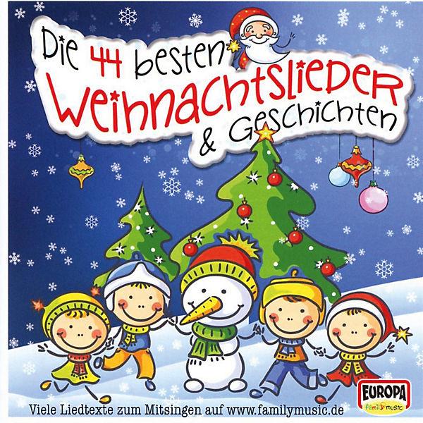 Weihnachtslieder Geschichte.Cd Die 44 Besten Weihnachtslieder Geschichten Sony