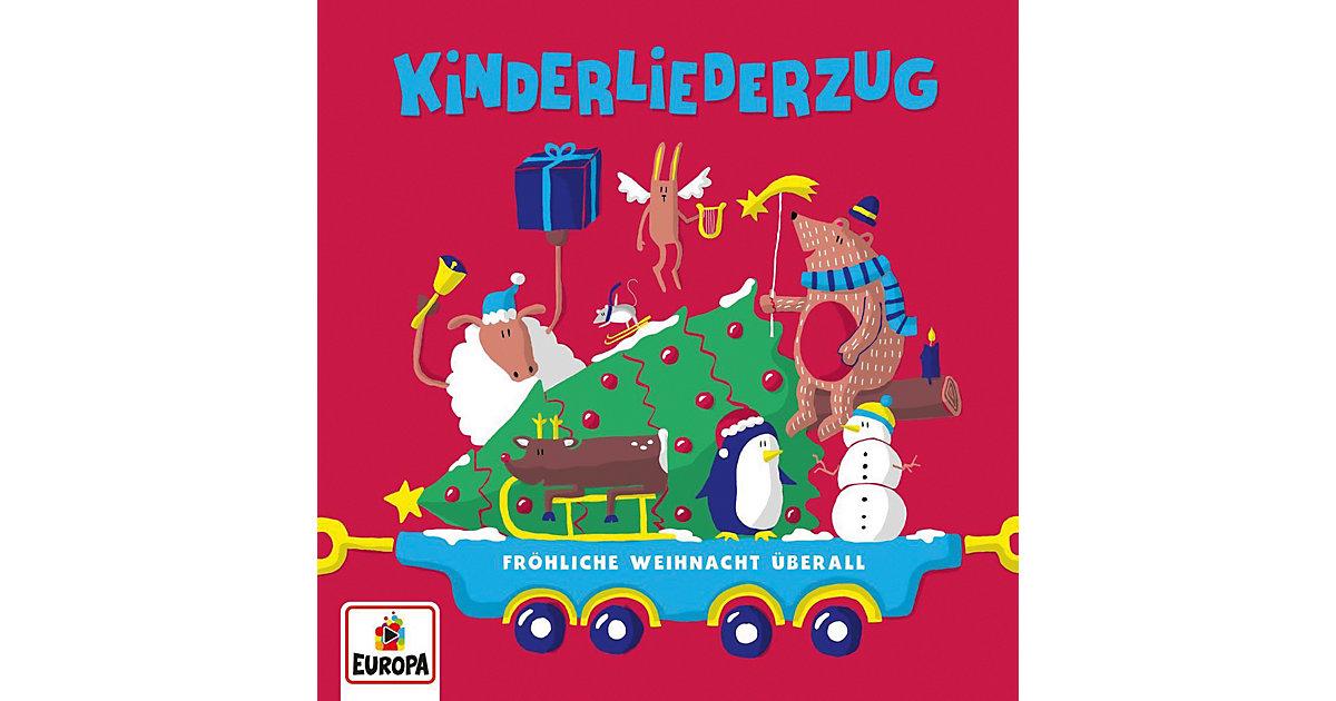 CD Kinderliederzug-Fröhliche Weihnacht Überall