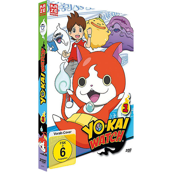 DVD Yo-kai Watch - Box 1