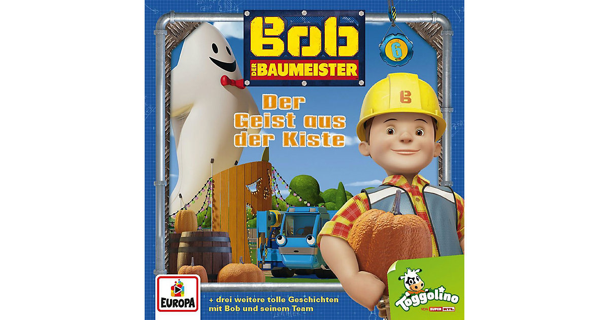 CD Bob der Baumeister 6 - Der Geist aus der Kiste