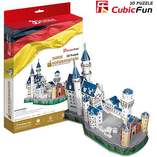"""Пазл 3D """"Замок Нойшванштайн (Германия)"""", CubicFun от CubicFun"""