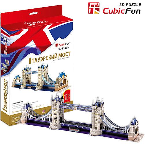 """Пазл 3D """"Тауэрский Мост (Великобритания)"""", CubicFun от CubicFun"""