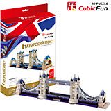 "Пазл 3D ""Тауэрский Мост (Великобритания)"", CubicFun"