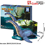 """Пазл 3D """"Эра Динозавров Плезиозавр"""", CubicFun"""