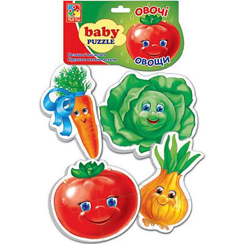 "Мягкие пазлы ""Овощи"", Vladi Toys от Vladi Toys"