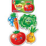 "Мягкие пазлы ""Овощи"", Vladi Toys"