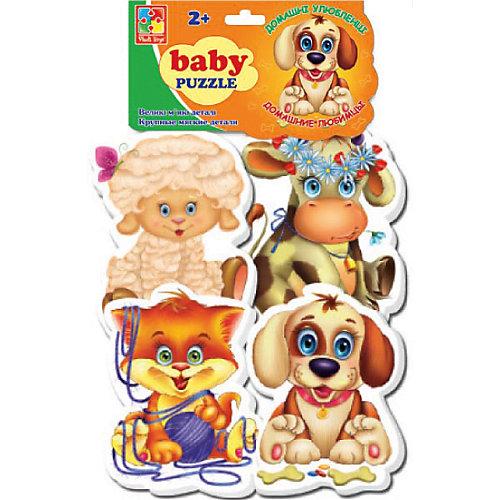 """Мягкие пазлы """"Домашние любимцы"""", Vladi Toys от Vladi Toys"""