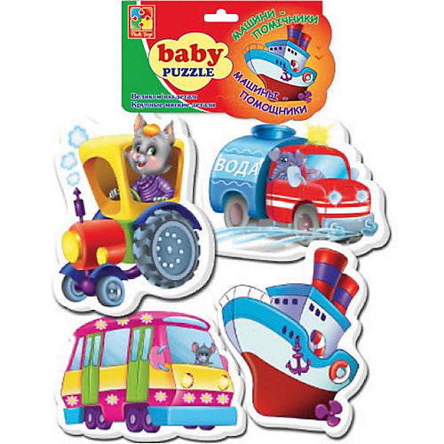 "Мягкие пазлы ""Транспорт"", Vladi Toys от Vladi Toys"