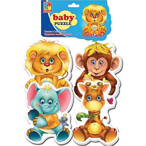 "Мягкие пазлы ""Зоопарк"", Vladi Toys от Vladi Toys"