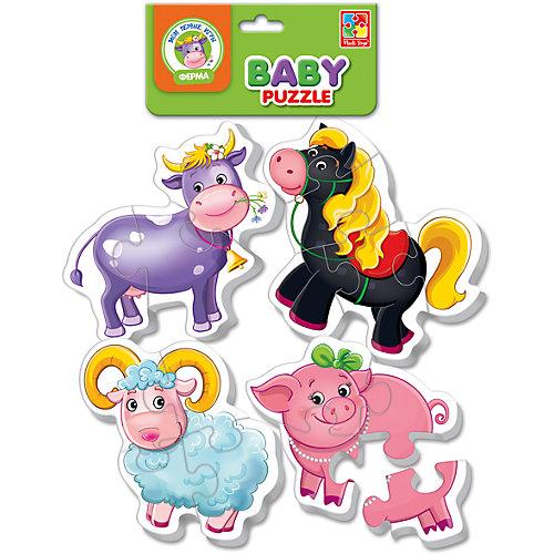 "Мягкие пазлы ""Ферма"", Vladi Toys от Vladi Toys"