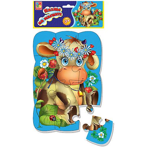 "Пазлы на магните ""Коровка"", Vladi Toys от Vladi Toys"