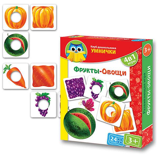 """Игра """"Фрукты-Овощи"""", Vladi Toys"""