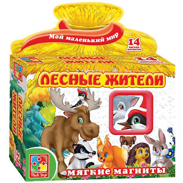 """Игра на магнитах """"Лесные жители"""", Vladi Toys"""