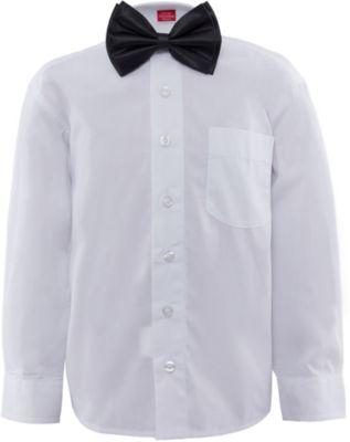 Рубашка с бабочкой для мальчика Imperator - белый