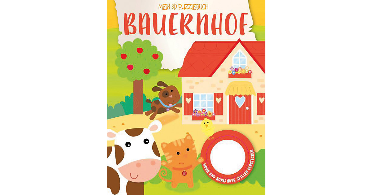 Mein 3D Puzzelbuch: Bauernhof