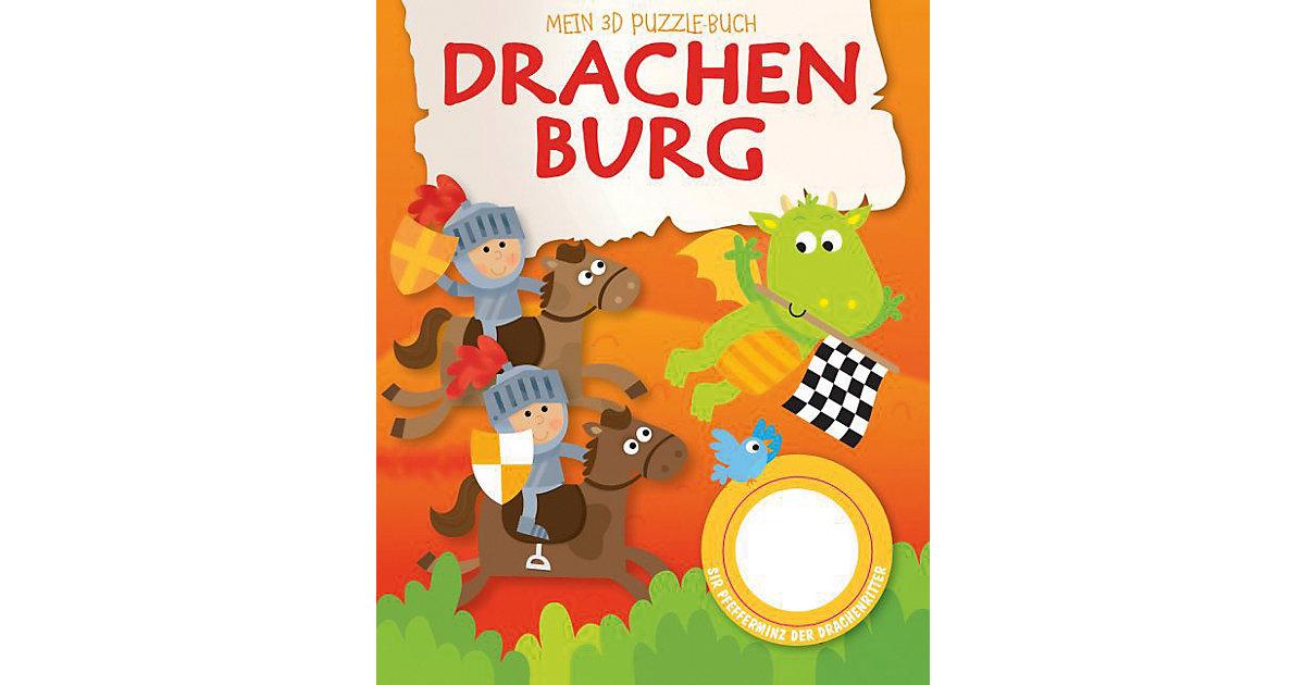 Mein 3D Puzzelbuch: Drachenburg