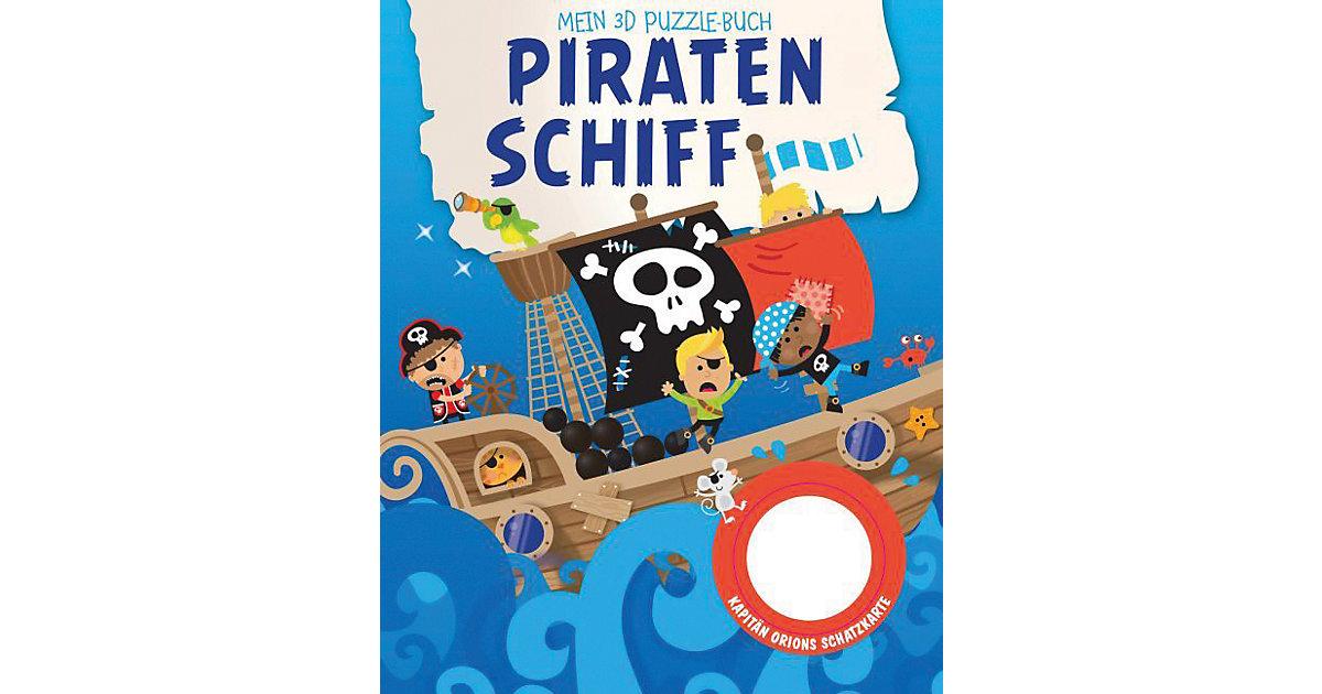 Mein 3D Puzzelbuch: Piratenschiff