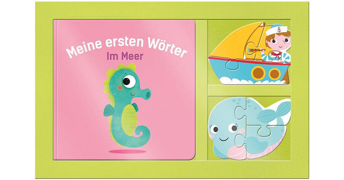 Mein 3D Puzzle-Buch: Meine ersten Wörter - Im Meer