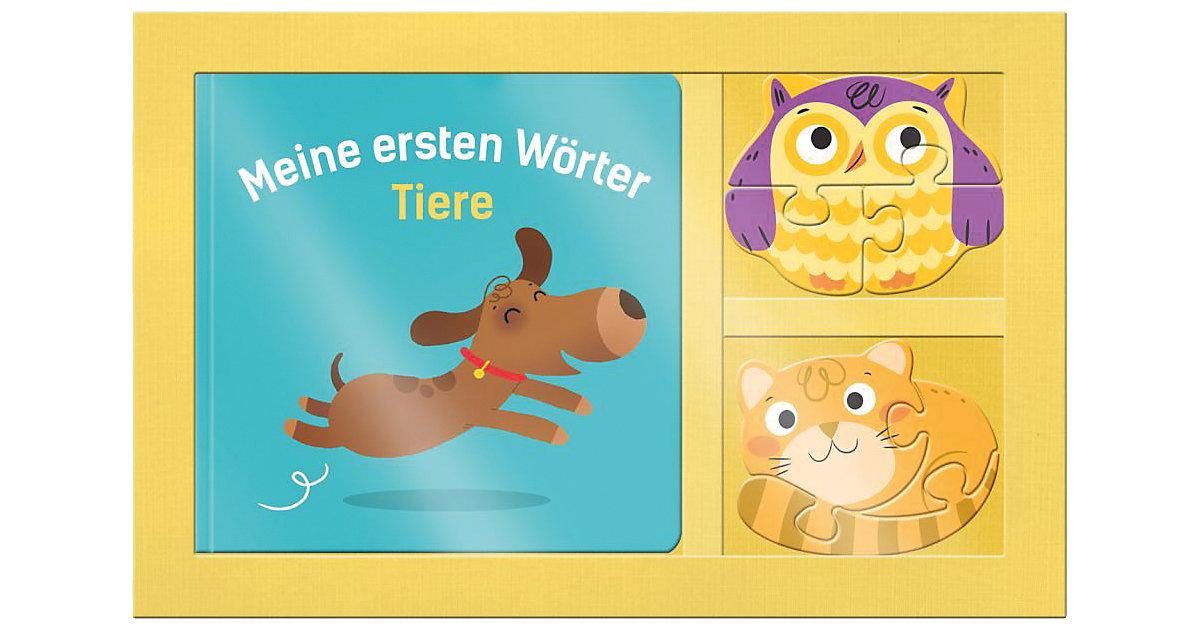 Mein 3D Puzzle-Buch: Meine ersten Wörter - Tiere