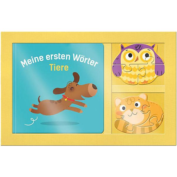 Mein 3D Puzzle-Buch: Meine ersten Wörter - Tiere, Egmont