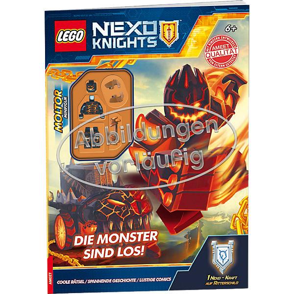 lego nexo knights die monster sind los lego nexo