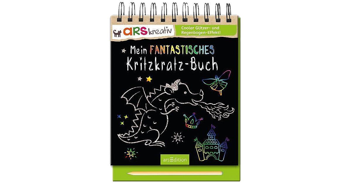 arsKreativ: Mein fantastisches Kritzkratz-Buch,...